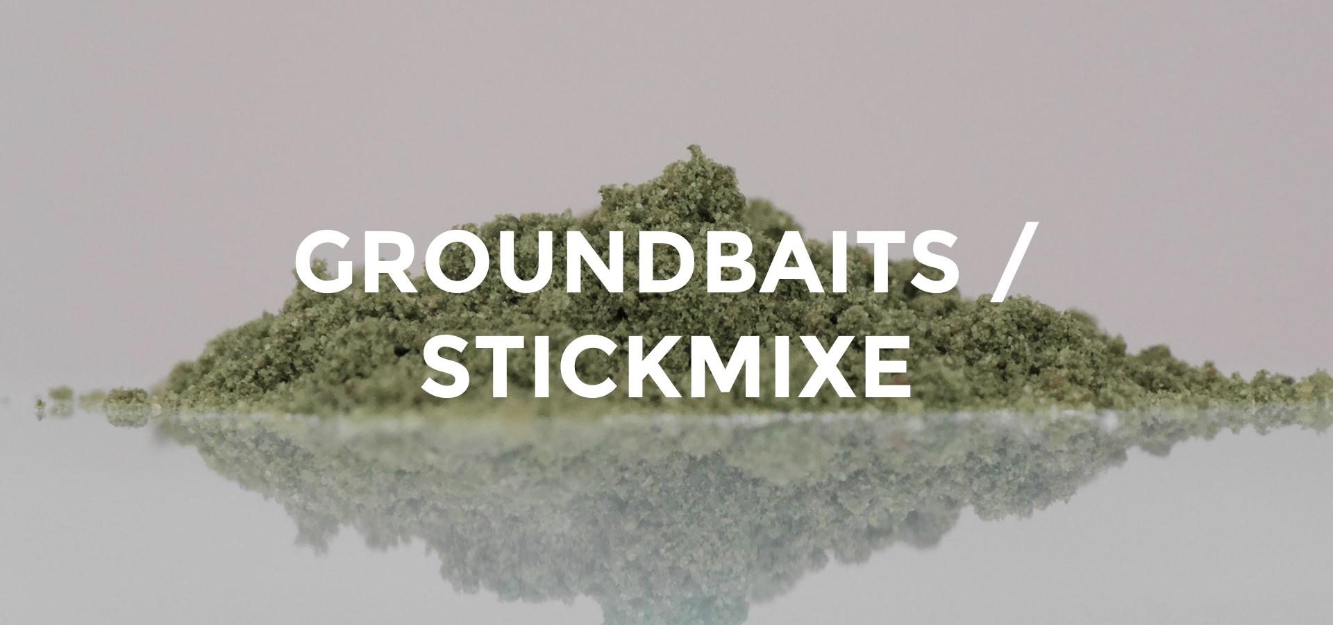 Groundbaits / Stickmixe
